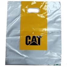 Custom Plastic Shopping Bag with Printed Logo