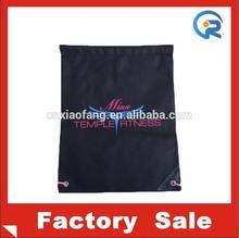 cheap promotional drawstring bags/non woven drawstring bag/non woven shopping bag