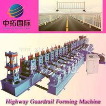 Steel Highway Guardrail Roll Forming Machine bucking machine
