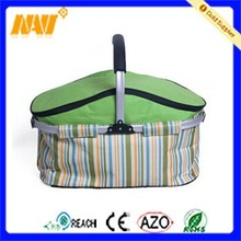 The newest style foldable outdoor picnic basket cool bag
