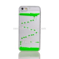 hot sale Liquid quicksand case for iphone5