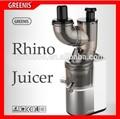 Greenis grande tobu juicer lento marca líder alimentação o nível superior qualidade industrial espremedor de laranja