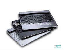 Unique design ultra thin Aluminum mini bluetooth keyboard for ipad air2