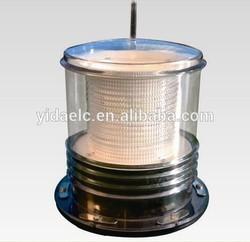 solar energy marine tri-color led flashing beacon(3 km visible range)