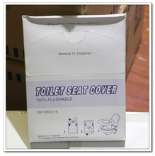 2014 Natural white Portable Disposable Toilet Seat Cover Paper