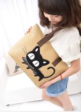 China latest new design lady animal pattern bag woman fashion canvas handbags