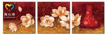 3 pieces wall art diy digital painting gift tin