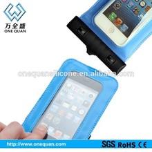 2014 Wholesale hot selling mobile phone pvc waterproof cell phone bag