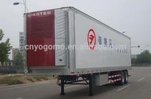 14.6m long refrigerator semi trailer van