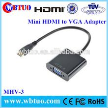 Lightning Interface Mini HDMI Male To Vga