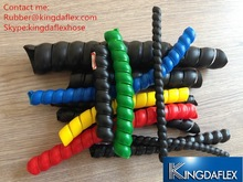 Blue, yellow and red Wire/cable/ Spiral Sleeve/Hose Protection Sleeve