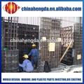 reutilizables pp de reciclaje de hormigón para la construcción