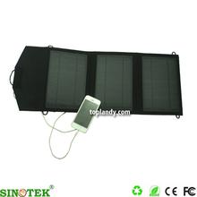 SINOTEK 5V 10W folding solar panel with charger solar panel backpack