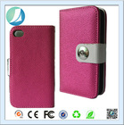 Top Quality Mercury Dual Colors Flip Pu Leather Case For iPhone 5s