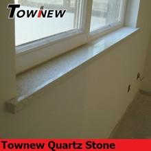 Home essential polished modern design non-radiative quartz windowsill
