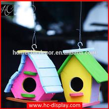 Cheap handmade christmas small wooden bird house