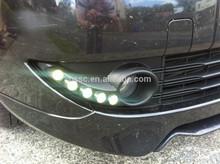 high power led car daytime running lights for Renault Fluence