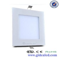 good price 105*105 square solar high lummens output flexible led panle