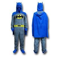 Batman Jumpsuit Adult Winter Jumpsuit Pajama Adult Jumpsuit Pajama