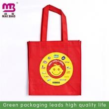 never rub off printed reusable non woven cloth shopping bag