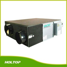 Two direct drive centrifugal fans electrical heater air changer
