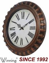 Custom Wall Clock, Antique Brass Wall Clock