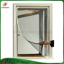 Perfect design privacy window screen with magnetic PVC frame
