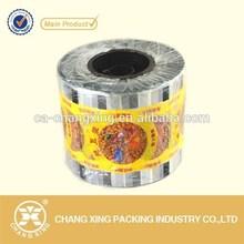 PP/PS/PET/PVE plastic soybean milk cup sealing film/lidding film