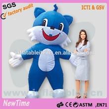inflatable happy cat