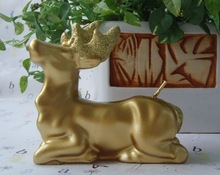 Animal candle mold shape Elk silicone mold elk soap molds