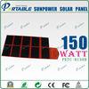 150w folding solar 12v battery panels charger