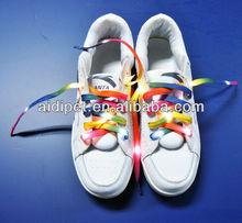 2015 hot selling newest product fashion led shoes lace shoes decoration
