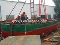 60 cbm mini-auto automotor areia bombeamento barge/barco para venda