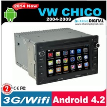 "SharingDigital 6.2"" multi-touch screen support MP5 Car dvd player for vw chico"
