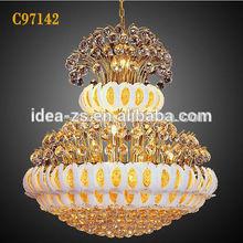C97142 ceiling led chandeliers, funky pendant lights, crystal light frame