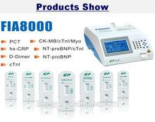 POC(Point of Care) test medical device FIA8000 Analyzer (CE marked)