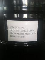 Metallic sodium Na 99.7%