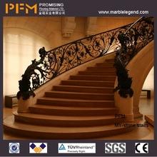 natural laminate bullnose stairs