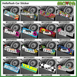 Hellaflush PVC Vinyl Removable Designs Decals For Cars Motorcycles