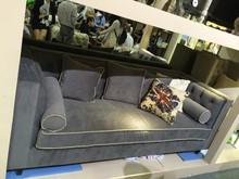popular wooden velvet sofa SF-3041
