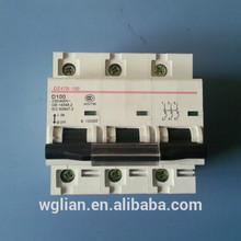 NC 2P 3P 100A 10KA air circuit breaker