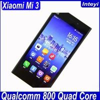 Xiaomi Mi3 Phone Qualcomm Snapdragon MSM8974AB,2355MHz Quad-core Android Phone 5.0 inch Xiaomi Mi4/Mi3/Mi3s/Mi2s