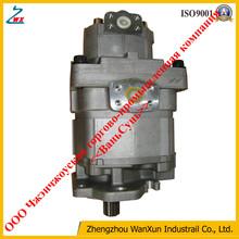 Wheel loader hydraulic work equipment P.P.C pump