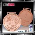 la promoción de metal barato figura concurso de patinaje medalla premios