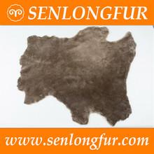 customized long hair tannesd merino sheep skins