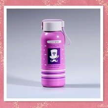 baby bottle 300ML stainless steel bottle for 304ss and PP cover
