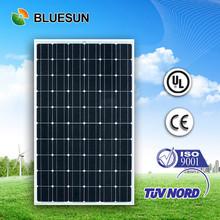 Bluesun high quality 25 years warranty mono 240w price per watt solar panel