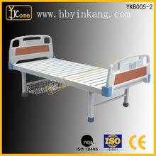 YKB005-2 Hot Sell!!! Hospital Ward Bed Flat Bed