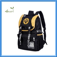 Unique vintage Korean style Unisex Casual Fashion School Travel Backpack Bags with Laptop Lining