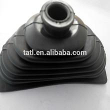 custom black rubber bellow applied in automobiles